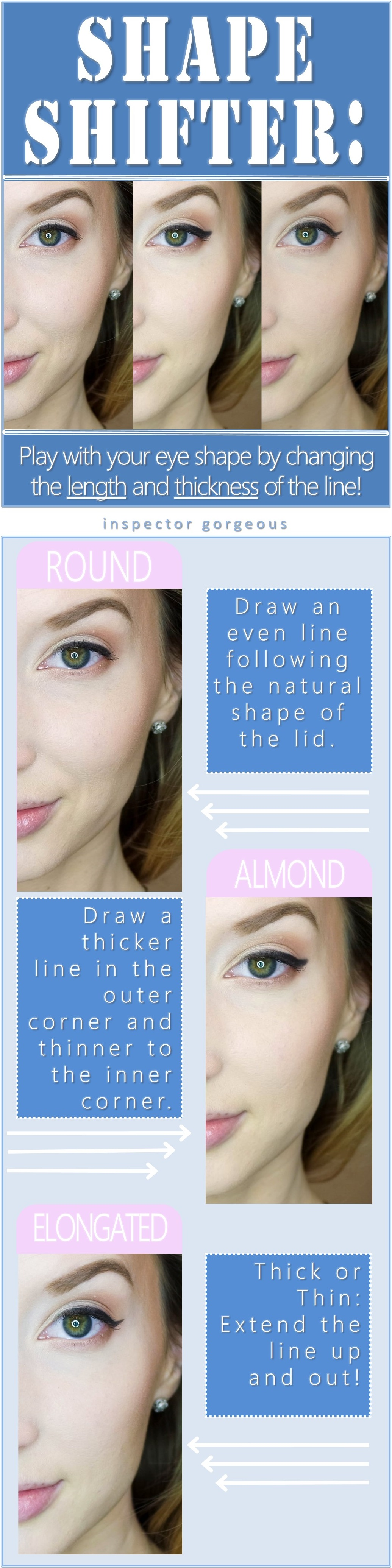 Three Way: An Eye Lining Experiment