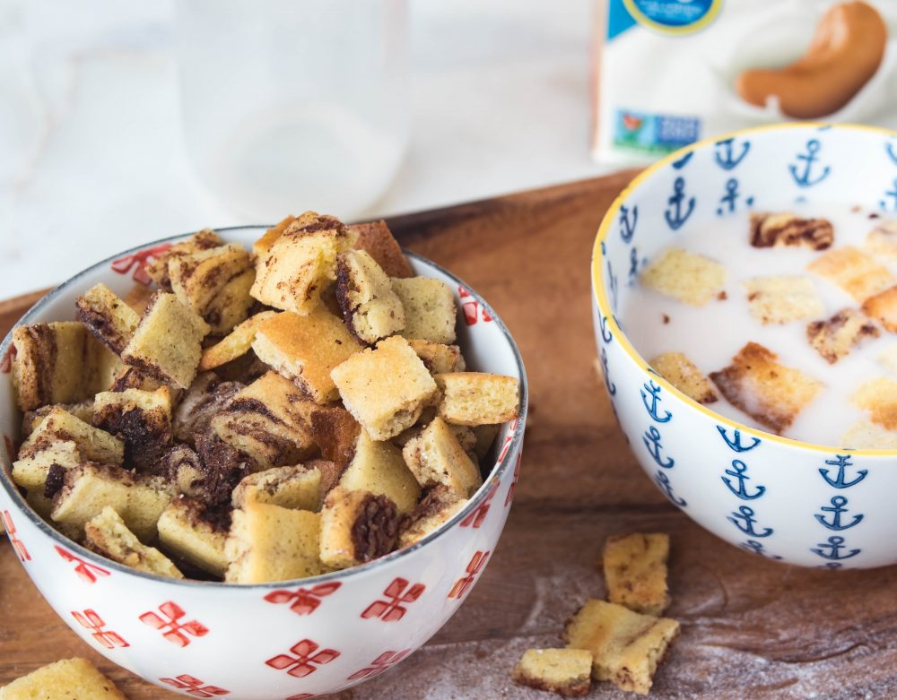 Cereal Killer: Snickerdoodle Cereal Bits & Milk