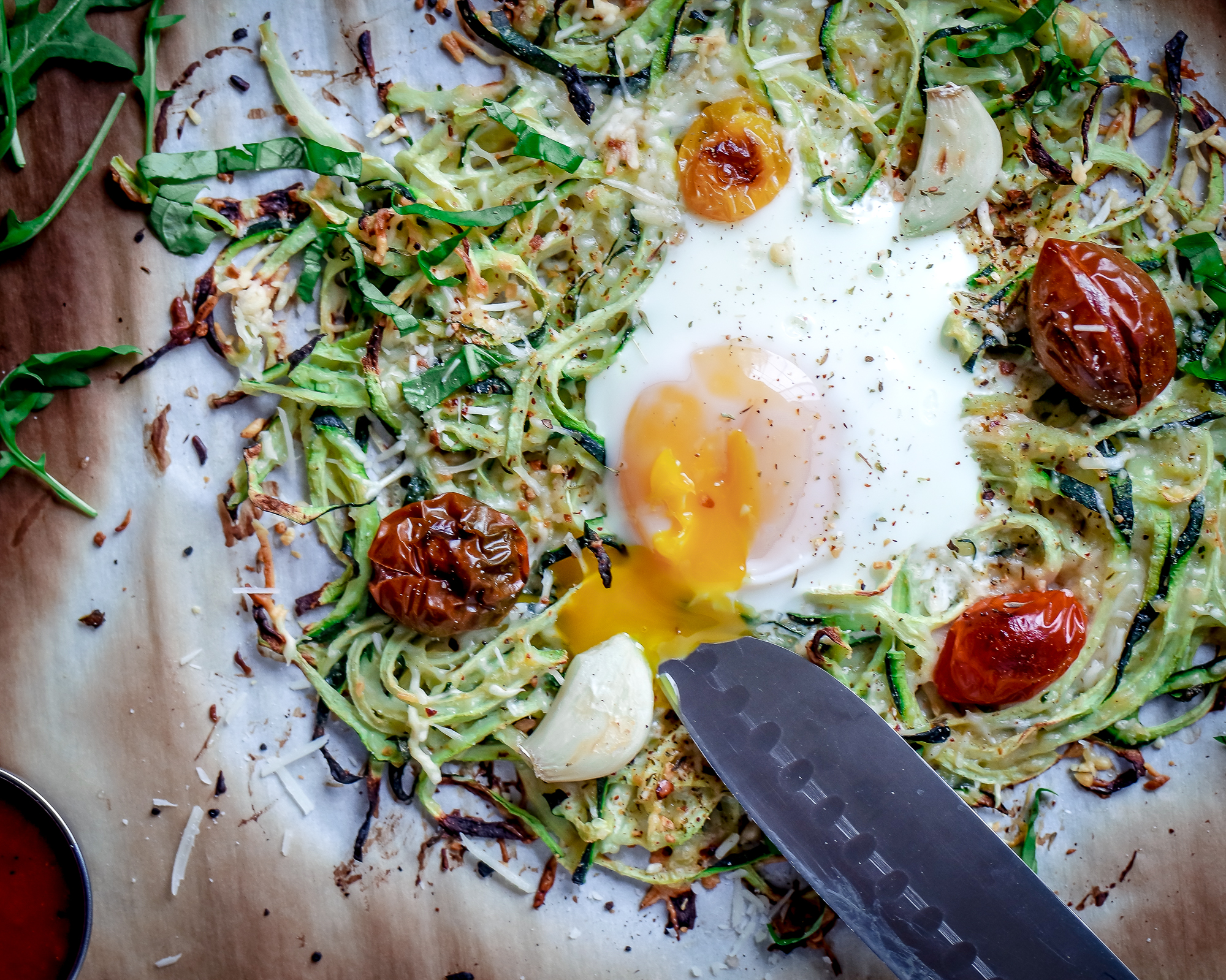 Zoodle Pizza Bake-2639