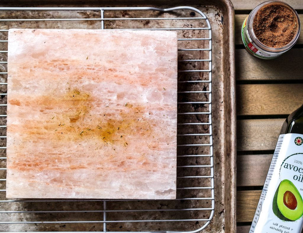 Salt Block Cooking- Coconut Crusted Shrimp-4