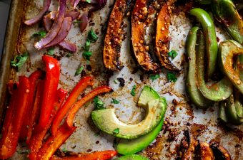 Spicy Portobello Sheet Pan Fajitas 🌮 GF & Vegan