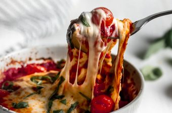 Easy Baked Vegetable Marinara 🍅 {Gluten Free & Low Carb}