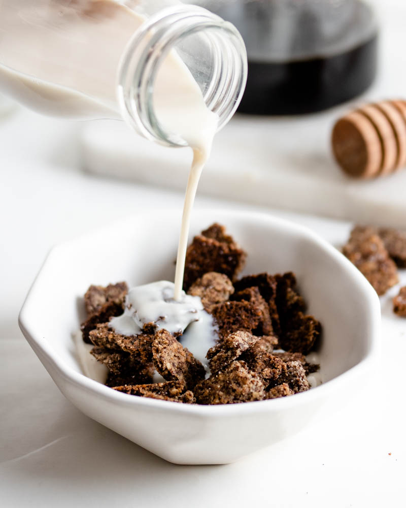 Low Carb Cinnamon Flax Cereal-6343