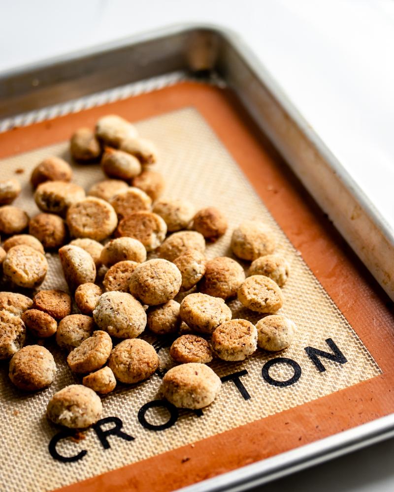 Vanilla Cookie Cereal Bites! {Gluten Free & Low Carb