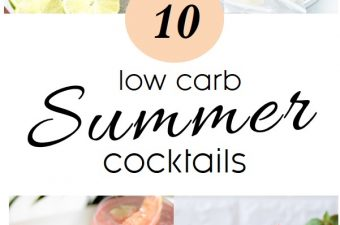10 Low Carb Drinks To Wet Your Whistle With In July